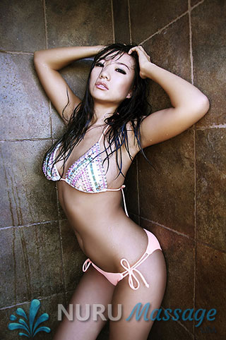Li is a NURU massage girl in Las Vegas